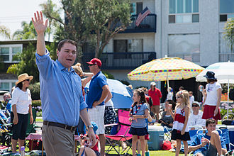 Carl DeMaio - Carl DeMaio marching in Coronado, California's Independence Day Parade in 2013