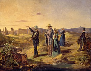 English Tourists in Campagna