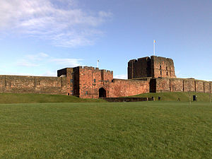 Scottish Marches - Carlisle Castle, headquarters of the English Western March