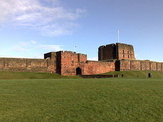 Carlisle, Cumbria - Carlisle Castle was built in the reign of William II.