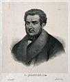 Carlo Matteucci. Lithograph by N. Fontani, 1853. Wellcome V0003907.jpg