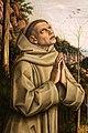 Carlo crivelli, visione del beato gabriello, 1489 ca., da s. francesco alto ad ancona 04.jpg