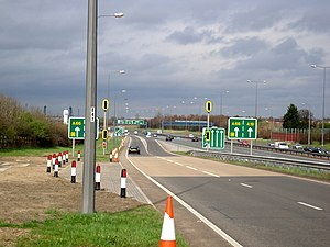 Ramp meter - Ramp Metering on the A19 in Middlesbrough.