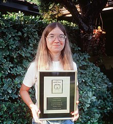 Carol Shaw Holding Gold River Raid Cartridge.jpg