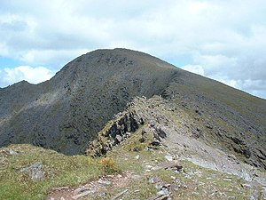 Carrauntoohil. A clear view of Ireland's highe...
