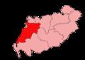 Carrick, Cumnock and Doon Valley (constituency) 2011.png