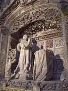Cartuja de Miraflores (Burgos) - Tumba de Alfonso de Castilla.jpg