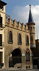 Casa Comas d'Argemir, Barcelona (1904)