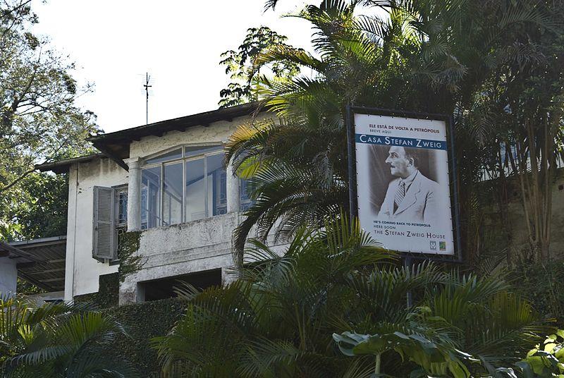 Casa de Stefan Zweig en Petropolis (Brasil).