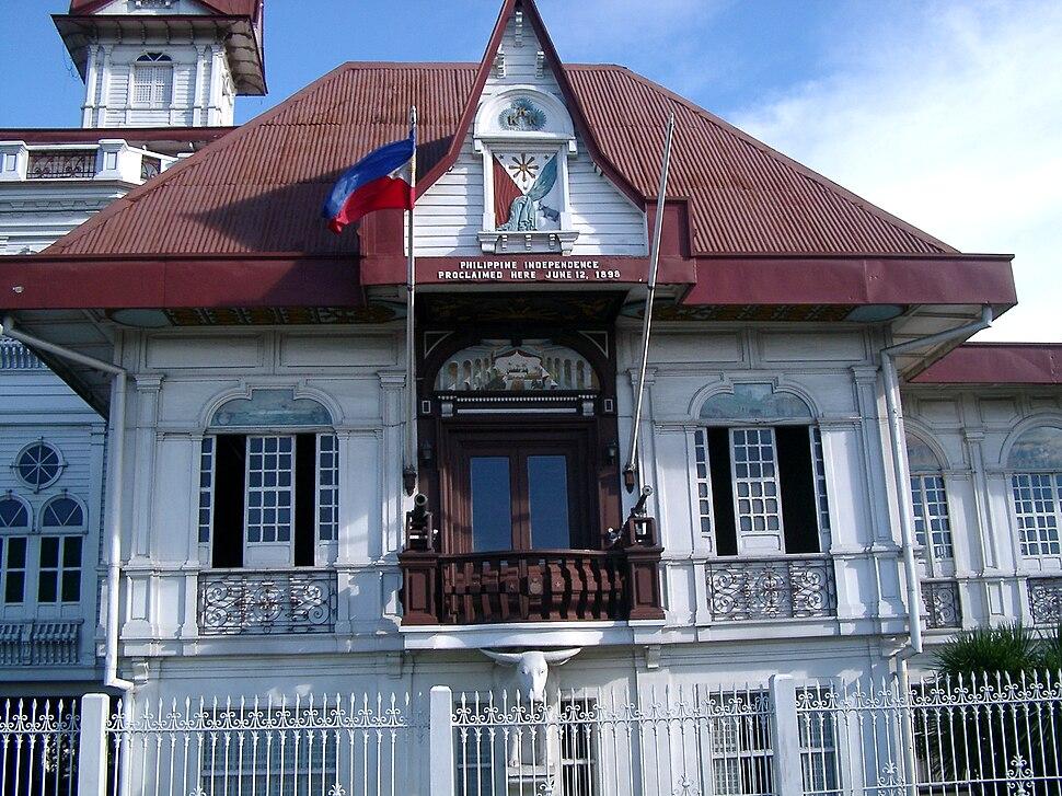 Casa del general Aguinaldo en Cavite, Luzón, Filipinas