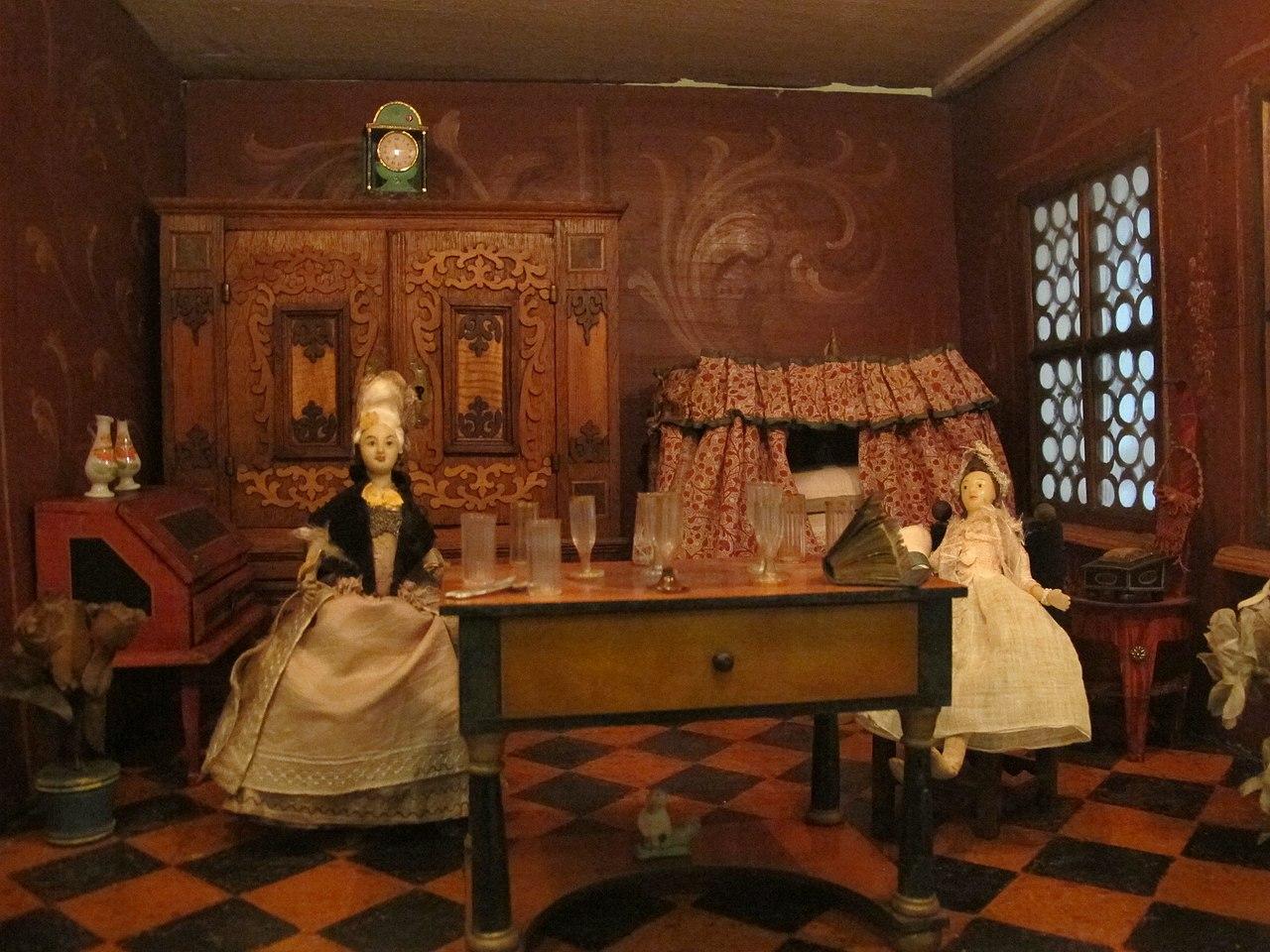 File casa di bambola della famiglia b umler di norimberga for Planimetrie della casa di gambrel