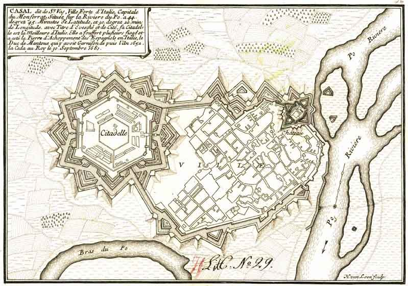 Casale Monferrato map (018 003)