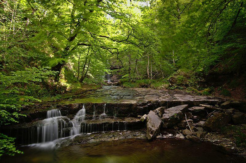 File:Cascadas en el río Argoza 01.jpg
