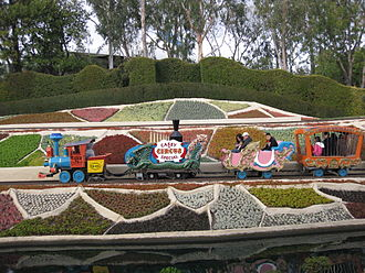 Casey Jr. Circus Train - Image: Casey Jr Circus Train at Disneyland
