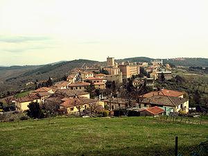 Castellina in Chianti - Image: Castellina in Chianti