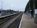 Castle Bar Park stn look north.JPG