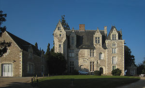 Musée des Beaux-Arts d'Angers - Château de Villevêque, an extension of the museum