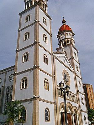 Maturín - The cathedral Nuestra Señora del Carmen.