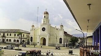 Moyobamba - Image: Catedral de Moyobamba 2012 desde la municipalidad