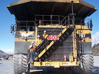 Haul truck - Image: Caterpillar 797 Truck 2