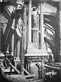 Cathédrale Notre-Dame - Arc-boutant de l'abside, détail - Reims - Médiathèque de l'architecture et du patrimoine - APMH00030383.jpg