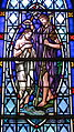 Cathedral Church of Saint Patrick (Charlotte, North Carolina) - stained glass, Baptism of Christ.JPG
