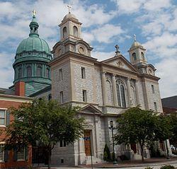 Cathedral of Saint Patrick - Harrisburg, Pennsylvania 01 (cropped).JPG