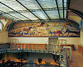 Cave-painting mural In The The Gallery of Paleontology - Paris.jpg