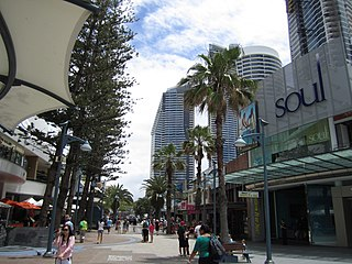 $6.86 million redevelopment of the Surfers Paradise mall