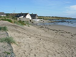 Beach at Clogherhead