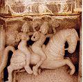 Ceiling sculpture in Panchakuta Basadi at Kambadahalli.jpg