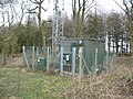 Cellphone mast and equipment cabin - geograph.org.uk - 1170028.jpg