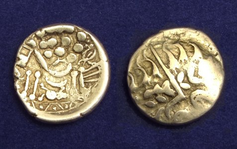 Celtic gold stater Durotriges tribe
