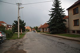 Center of Čikov, Třebíč District.JPG