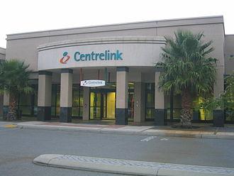 Centrelink - A Centrelink office at Innaloo, Western Australia in 2006