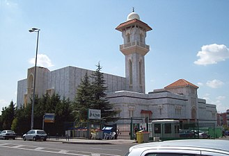 Islam in Spain - Mosque of Madrid, inaugurated in 1992.