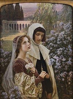 Incipit Vita Nova, 1903, Cesare Saccaggi