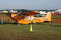 Cessna A185F Skywagon Polar Pumpkin N90SN LSideFront NoParking SNF 04April2014 (14606433923).jpg