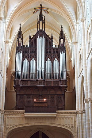 Jean-Jacques Arveuf-Fransquin - Organ of Châlons Cathedral
