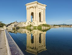 Château d'eau du Peyrou, Montpellier 06.jpg