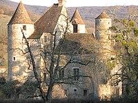 Château de Balleure (71) - 1.JPG