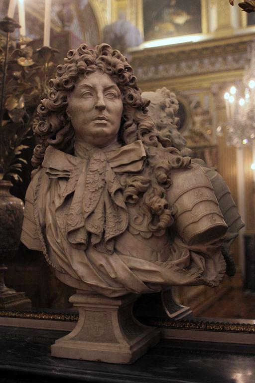 File ch teau de versailles chambre du roi buste de louis for Chambre chateau