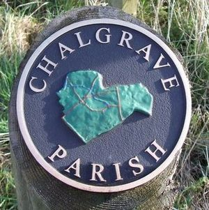 Chalgrave - Signpost for Chalgrave Parish