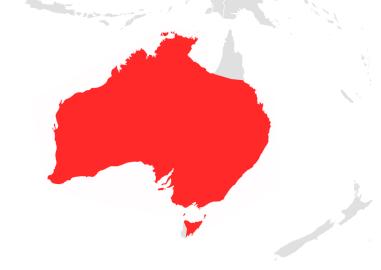 Chalinolobus gouldii map