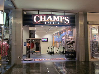 Champs Sports - Champs Sports at the Westfield San Francisco Centre