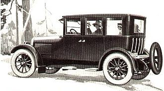 Chandler Metropolitan Sedan - Image: Chandler Motor