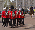 Changing of the Guard - Royal Gibraltar Regiment under escort.jpg