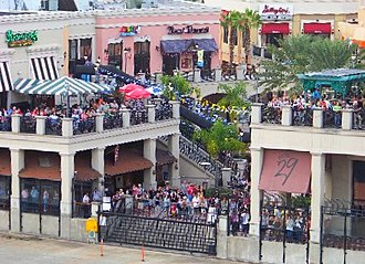 Channel District - A Crowd at the Channelside Complex