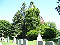 Chapel building at Common Burying ground Newport RI.jpg