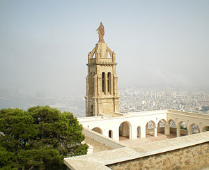 Santa Cruz church in Oran